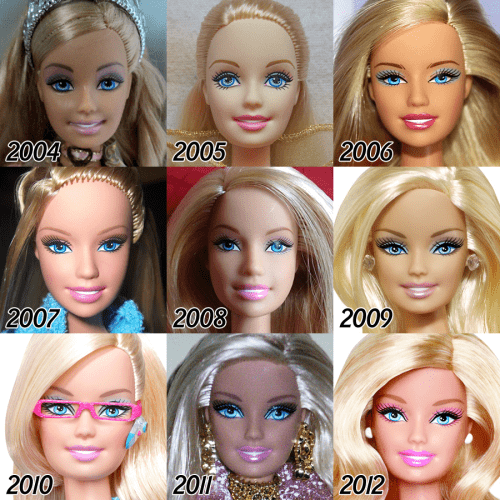 barbie-evolution-2004-2012