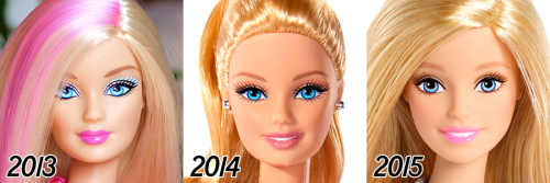 barbie-evolution-2013-2015