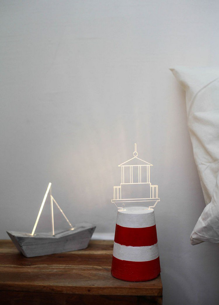 boat lighthouse lamps