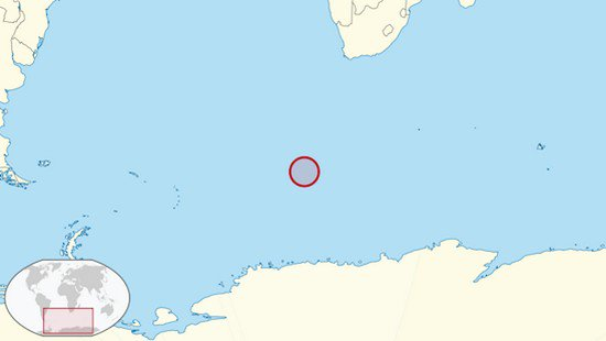 bouvet island map