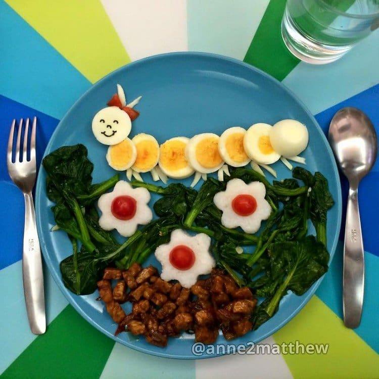 breakfast caterpillar