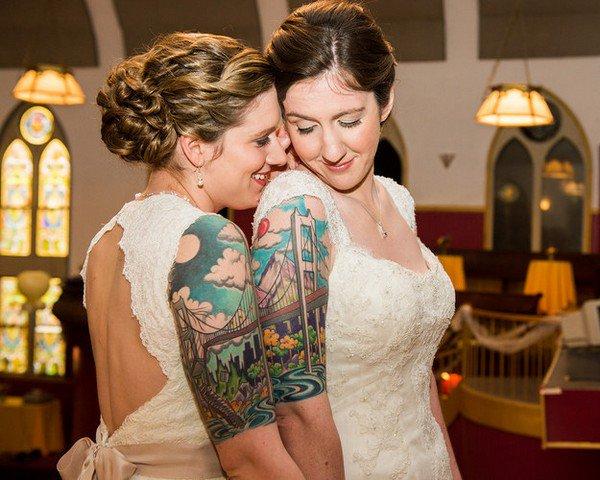 brides tattoos