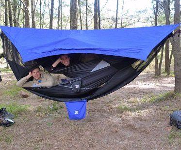 bunk bed hammock double