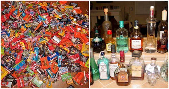 candy alcohol