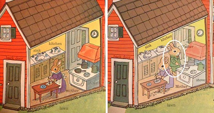 changes-updates-social-norms-richard-scarry-dad