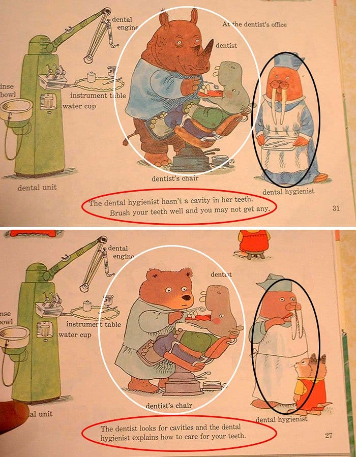 changes-updates-social-norms-richard-scarry-dentist