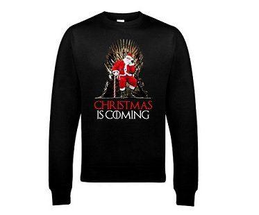 christmas is coming sweatshirt