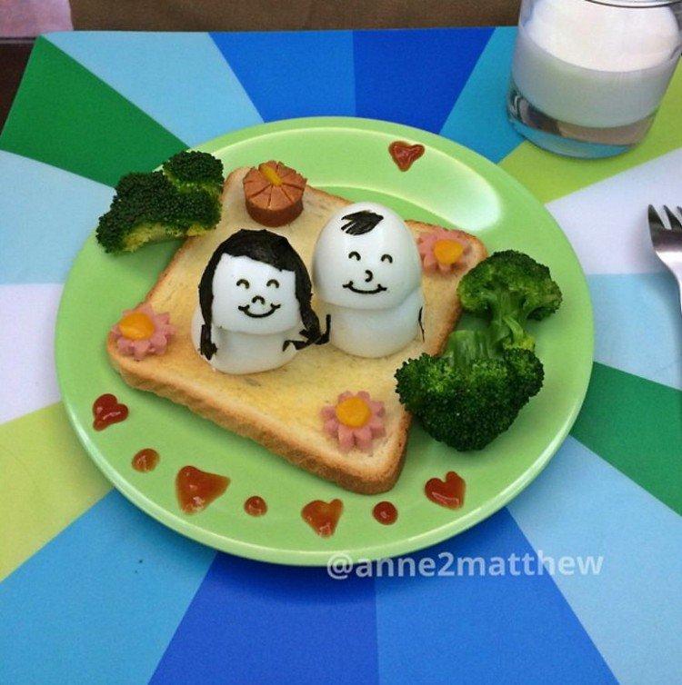 couple eggs