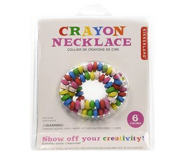 crayon necklace pack