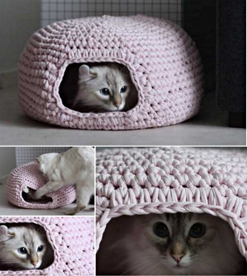 crochet-project-kitty-house