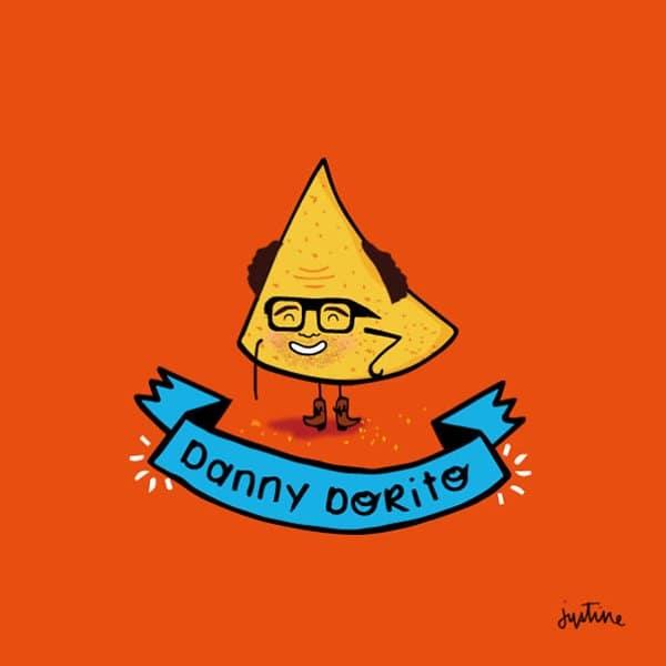 cute-celebrity-puns-danny-dorito