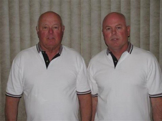 dad son twins