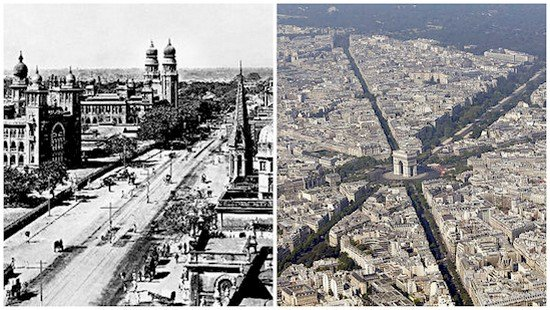 delhi then and now