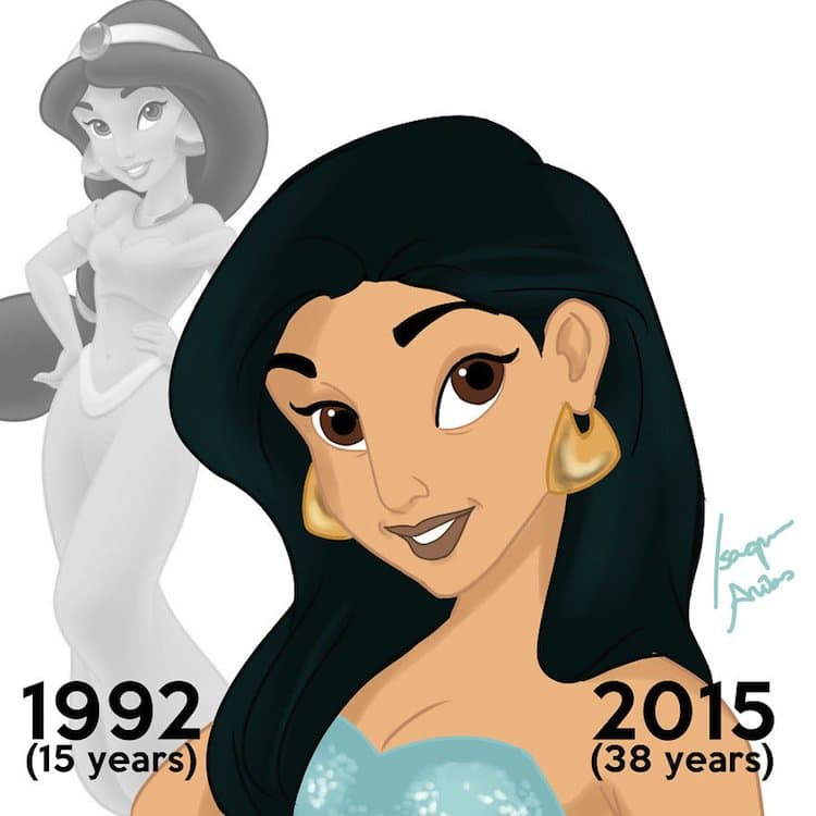 Disney Characters All Grown Up