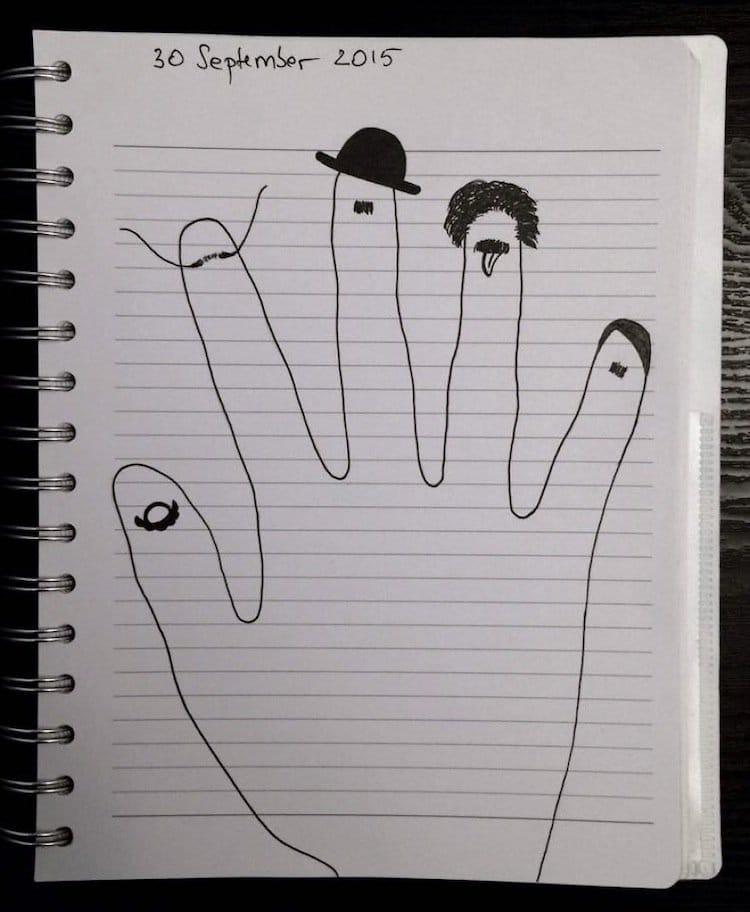 doodle-hats