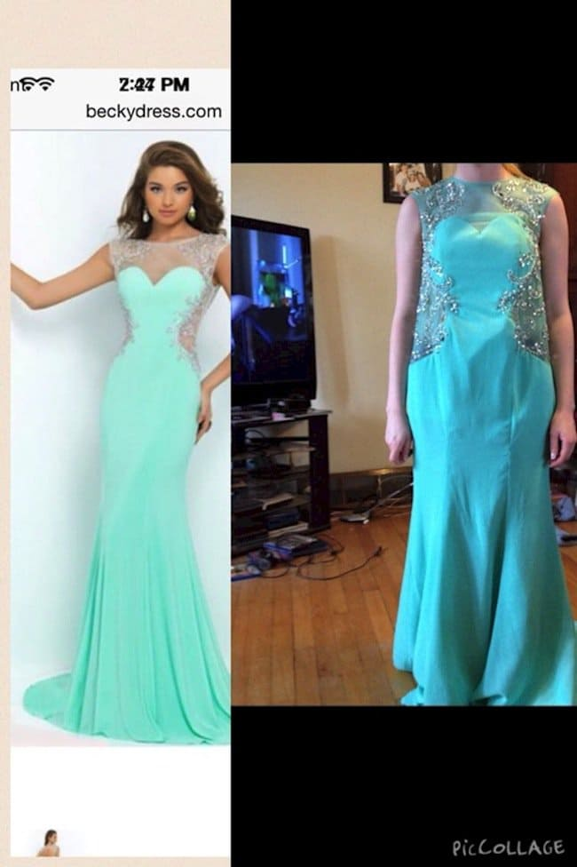 blue gown expectations vs reality