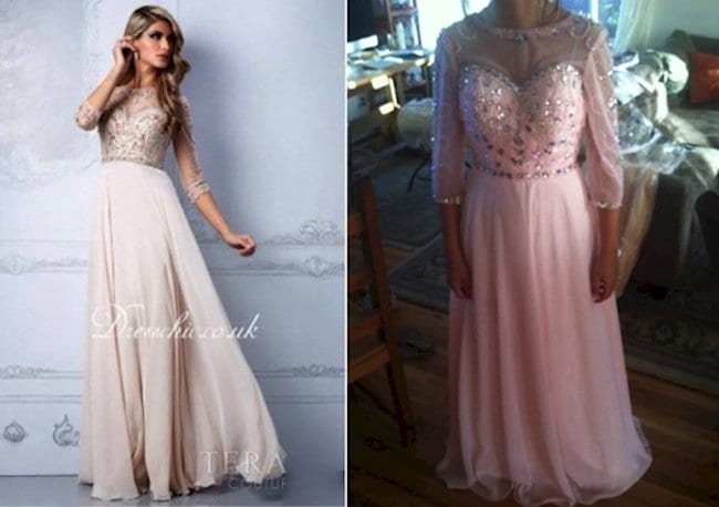 prom dress expectations vs reality