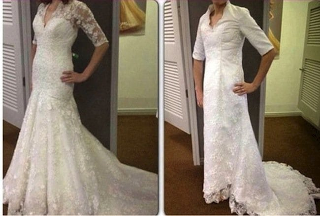 wedding dress expectations vs reality