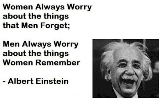einstein sexes quote