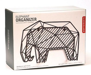 elephant organizer box