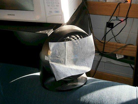 fabric freshener fan