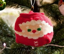 father christmas bauble socks