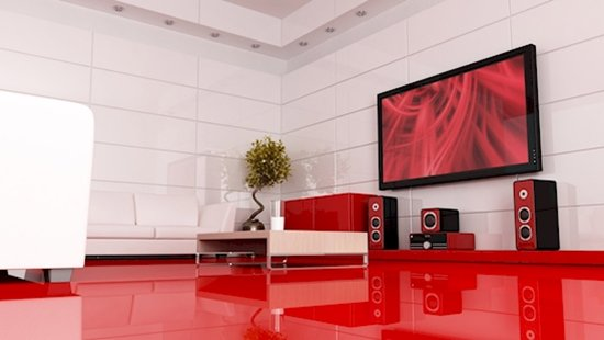 futuristic-interior-design-red