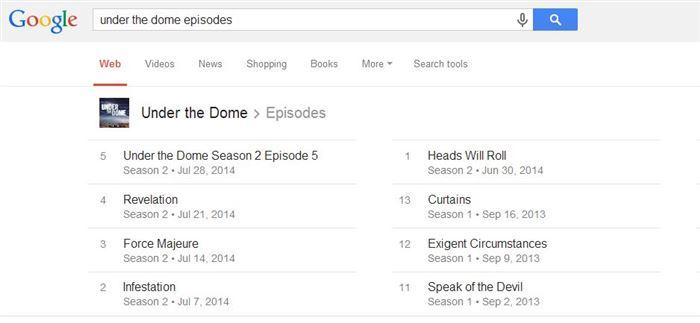 google tv schedule