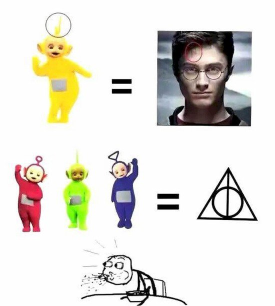 harry potter teletubby