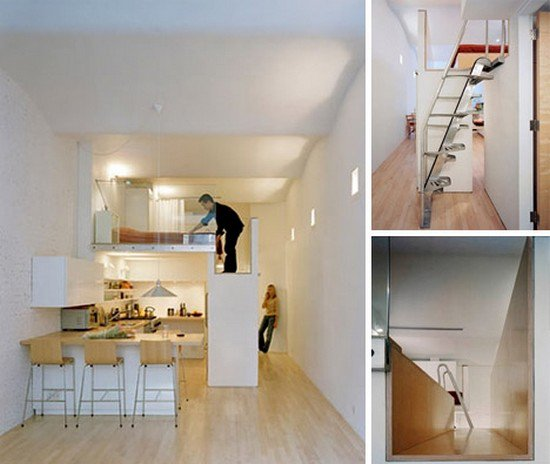 ladder apartment