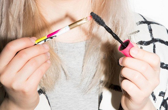mascara eyeliner brush