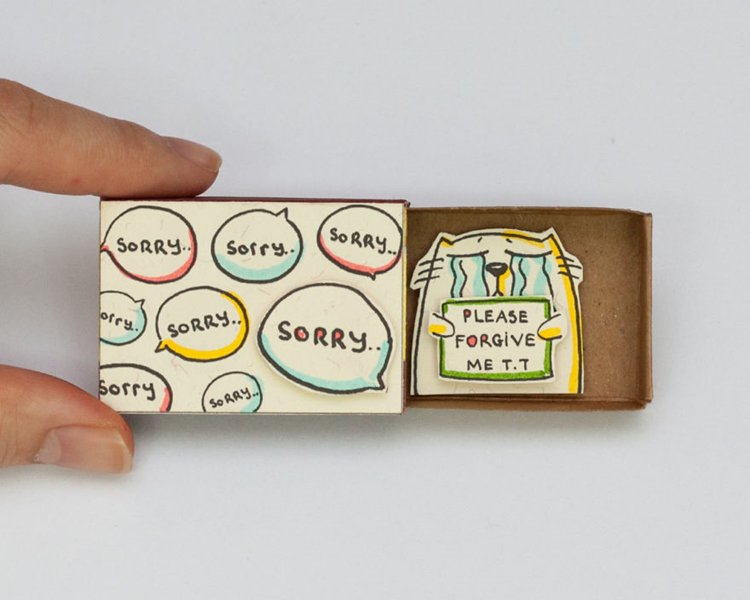 matchbox-cards-sorry