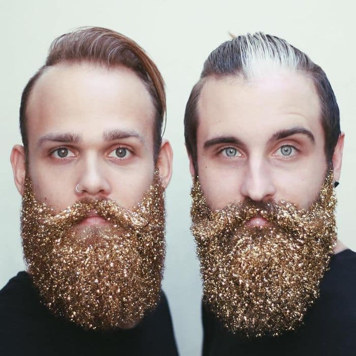 men gold beards