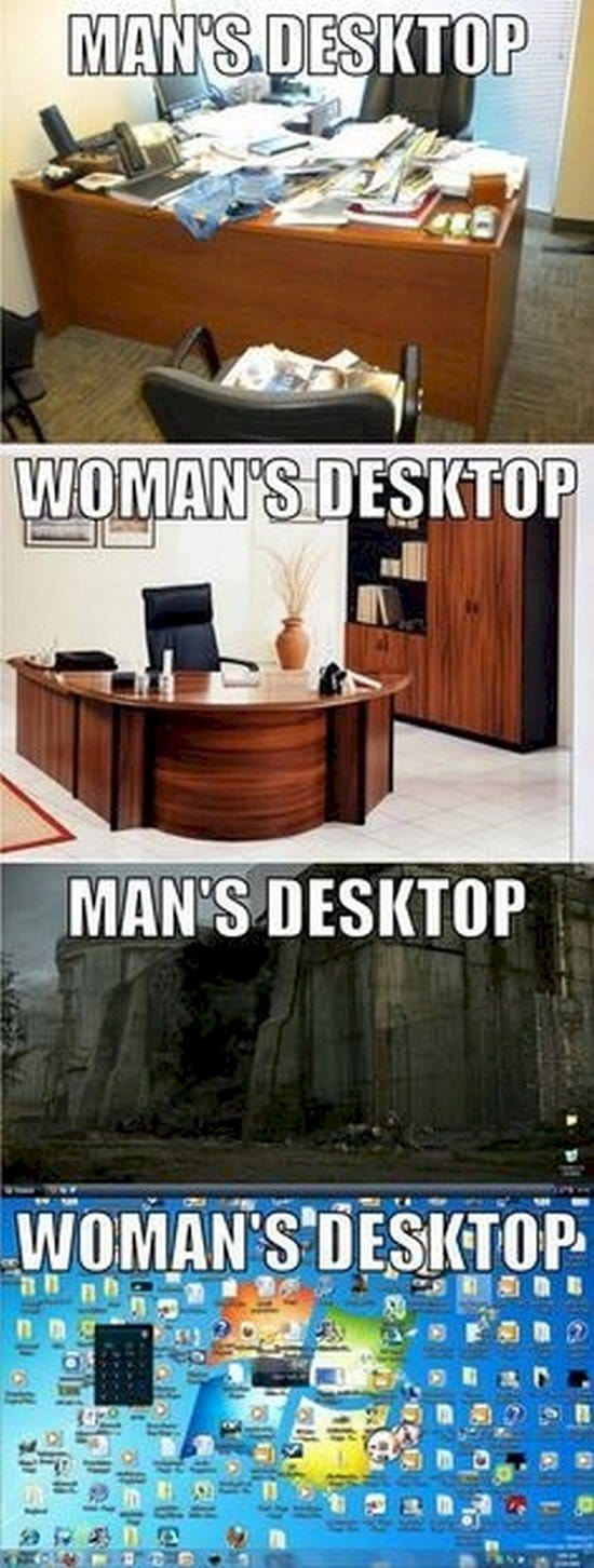 men vs women desktop
