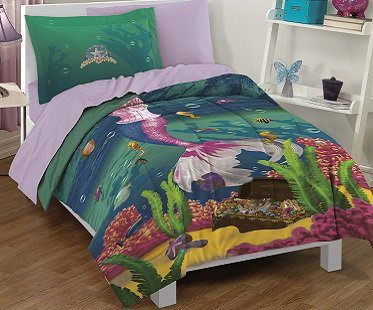 mermaid bedding set child
