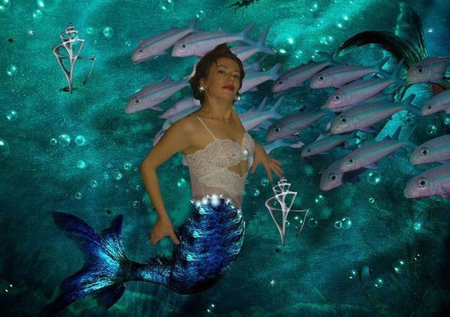 mermaid photoshop