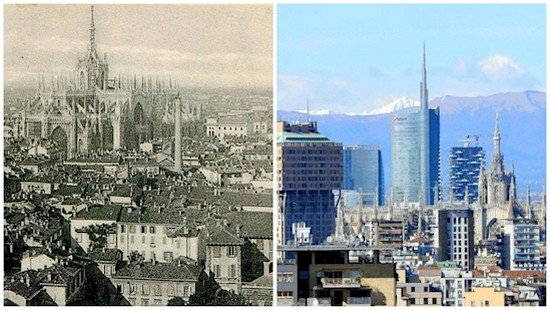 milan then and now
