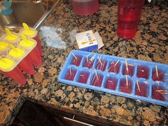 mini popsicles