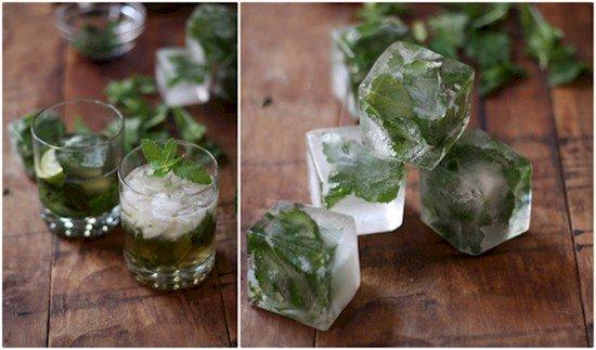 mojito ice cubes