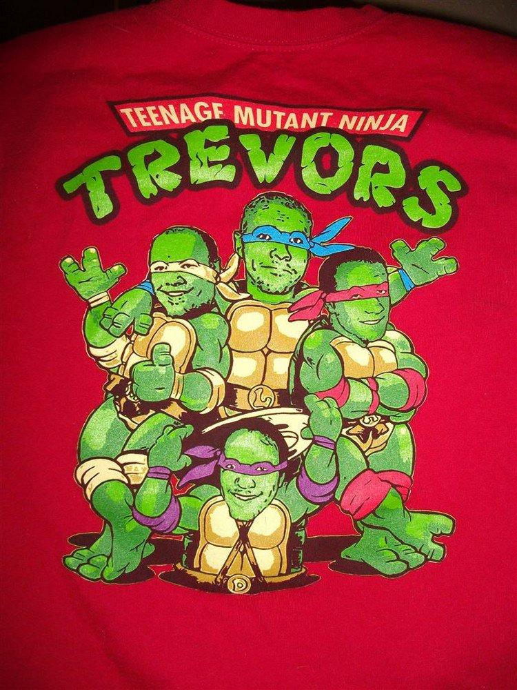 mutant ninja trevors t shirt