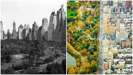 nyc then and now