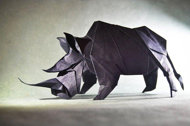 origami-art-gonzalo-garcia-calvo-rhino
