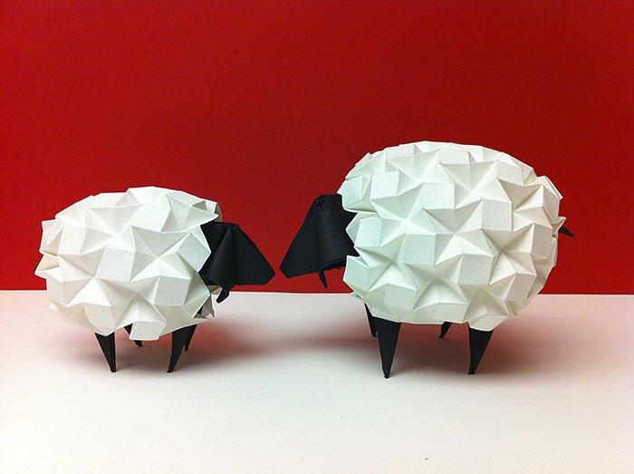 origami-sheep