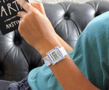 paper watch design