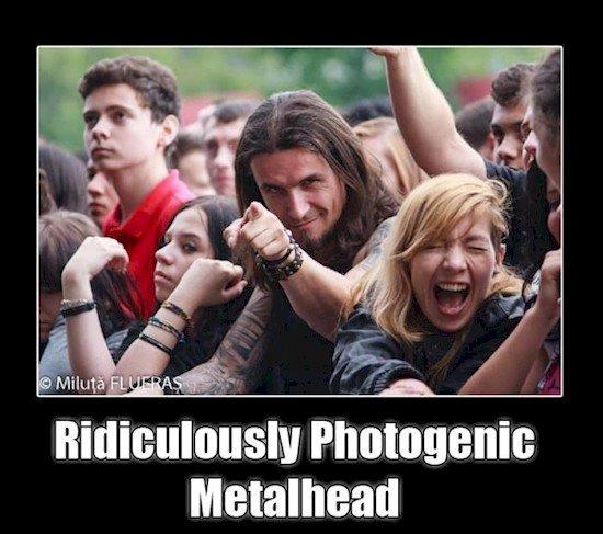 photogenic metalhead