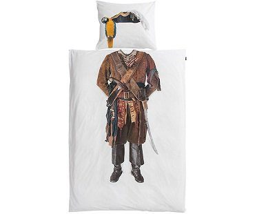 pirate bedding set white
