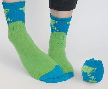 planet ball socks