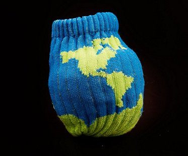 planet ball socks earth