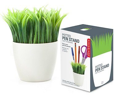 potted pen stand box