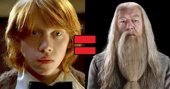 Potter twins vs ron jeremy - 4 9
